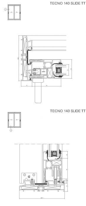 TECNO 140 SLIDE TT
